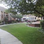 Peaceful Courtyard