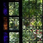 fenêtre, vitrail et ferronnerie d'art