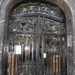 The door to B&B