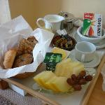 Continental Breakfast Day 1