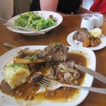 Enough Lamb shank for two