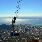 Cableway up to Table Mountain summit