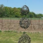 Vine ball decorations