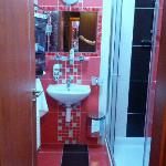 Nice clean and new bathroom