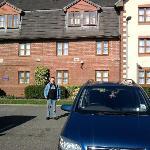 Front of Premier Inn, Hampton, Peterborough