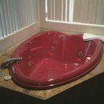 jacuzzi right next to bed