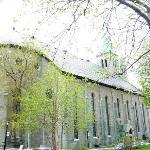 St. Patrick's, seen from René-Lévesque bd