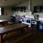 Large kitchen area - orderly and clean