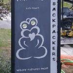 Tiki Lodge Road Sign