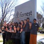 The staff at Forrest Hotel & Apartments welcomes you
