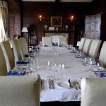 the lovely winston dining room