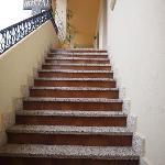 Subida escaleras