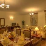 Two Bedroom Apartment Dining & Living Room