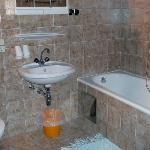 Bad/WC des Appartement Muttekopf
