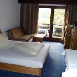 Schlafbereich des Appartement Plattein