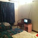 'Deluxe Room with satellite TV!'