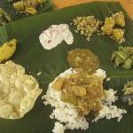 Yummy sadhya (thali)