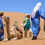 Camel ride - Morocco-discovery