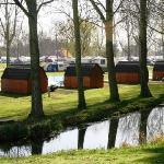 Fleet of Camping Pods at Billing Aquadrome