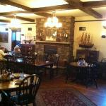 The main dining area at B & B.