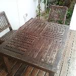 Baan Sarika - Horrible condition of Pool furniture