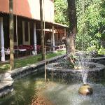 The Ayurveda centre at Barberyn Reef
