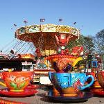 Fairground at Billing Aquadrome