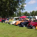 Custom Car Show at Billing Aquadrome