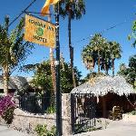 The Iguana Inn.  Photo taken from the street
