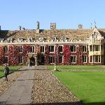 Trinity Court leading to Chapel