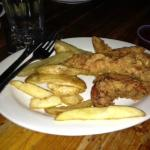 Beer Battered Chicken Strips and Fries