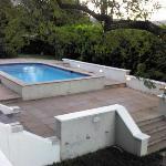 The pool at the Rutland Lodge