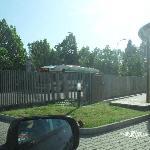 L'autobus n.32 per andare alla stazione e prendere il 2 per venezia