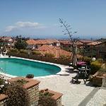 piscina panoramica,profonda mt.1,50