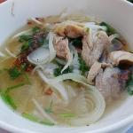 Vietnamnese noodle with Chicken