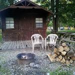 Our quaint little cabin