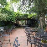 Outdoor Dining Area for Dinner & Sunday Brunch