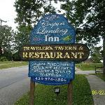 Sign in Front of Inn