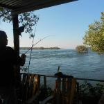 Main Lodge Fishing from deck