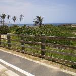Bike lane downhill...