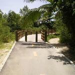Entrance to bridge..
