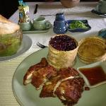 Chiang Mai chicken breakfast-the best!