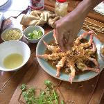 cooking class- prawn with tamarind sauce