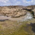 Stream on rocky terrain...