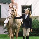 Ride Horseback up to the Wedding site