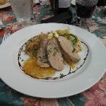 Saturday night perfect pork tenderloin/ dining al fresco