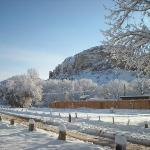 Ghost Ranch Under a Blanket of Snow!
