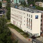 IBIS Budget (formerly ETAP) Hotel seen from Novotel