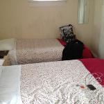 room one,  I think it was very spacious , someone said the rooms were small but how much space d