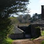 Model Farm Buildings and Old Cider Press